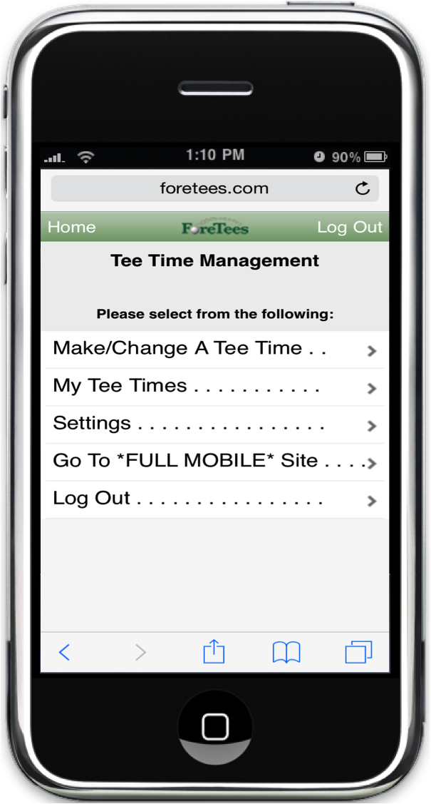 ForeTees Releases It's First Mobile Solution