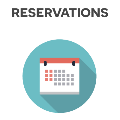 club reservations software